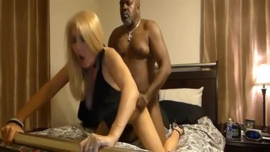 Sexy mature fucked hard by big black dick