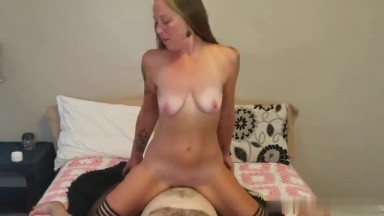 Amateur mature in her first porn video