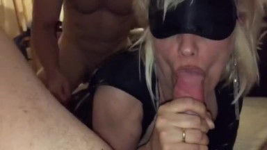 Gangbang with the horny wife