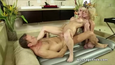 Hot Threesome with Anal Sex